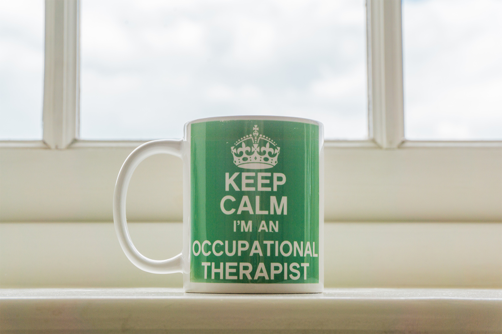 Can phd change the world? Occupational Therapist mug says yes!